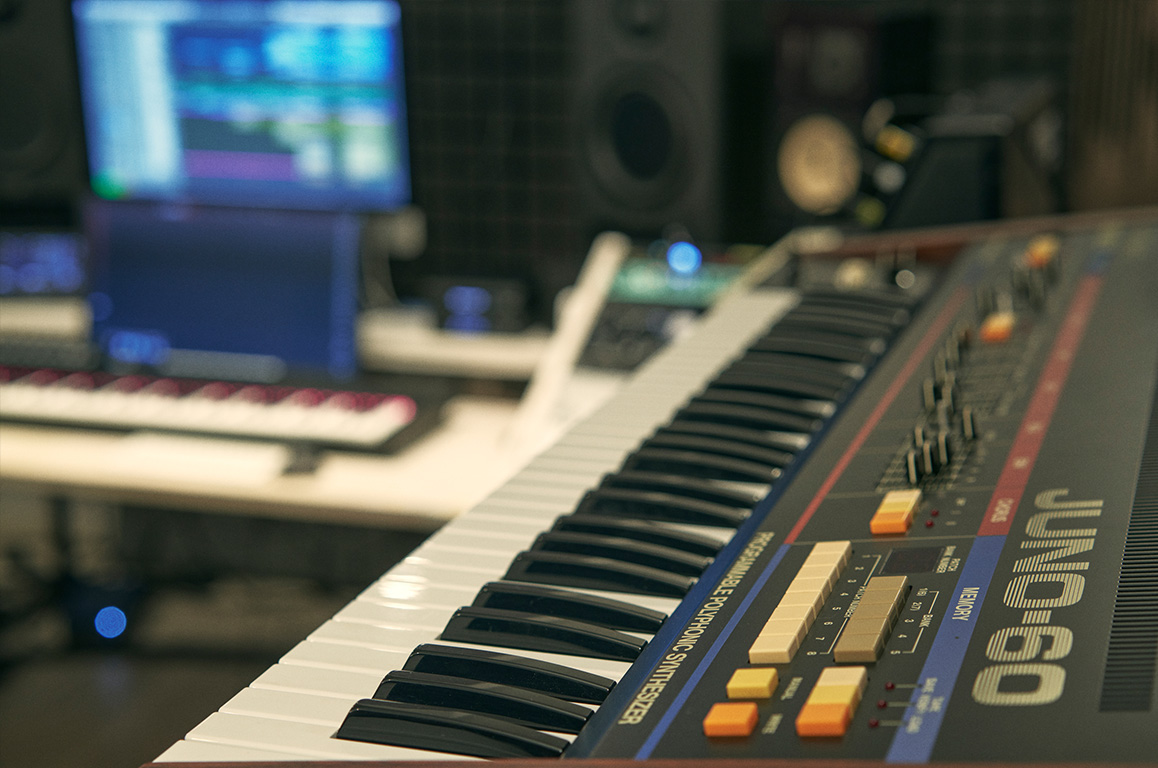 Wouter Hardy Music Producer Studio 07