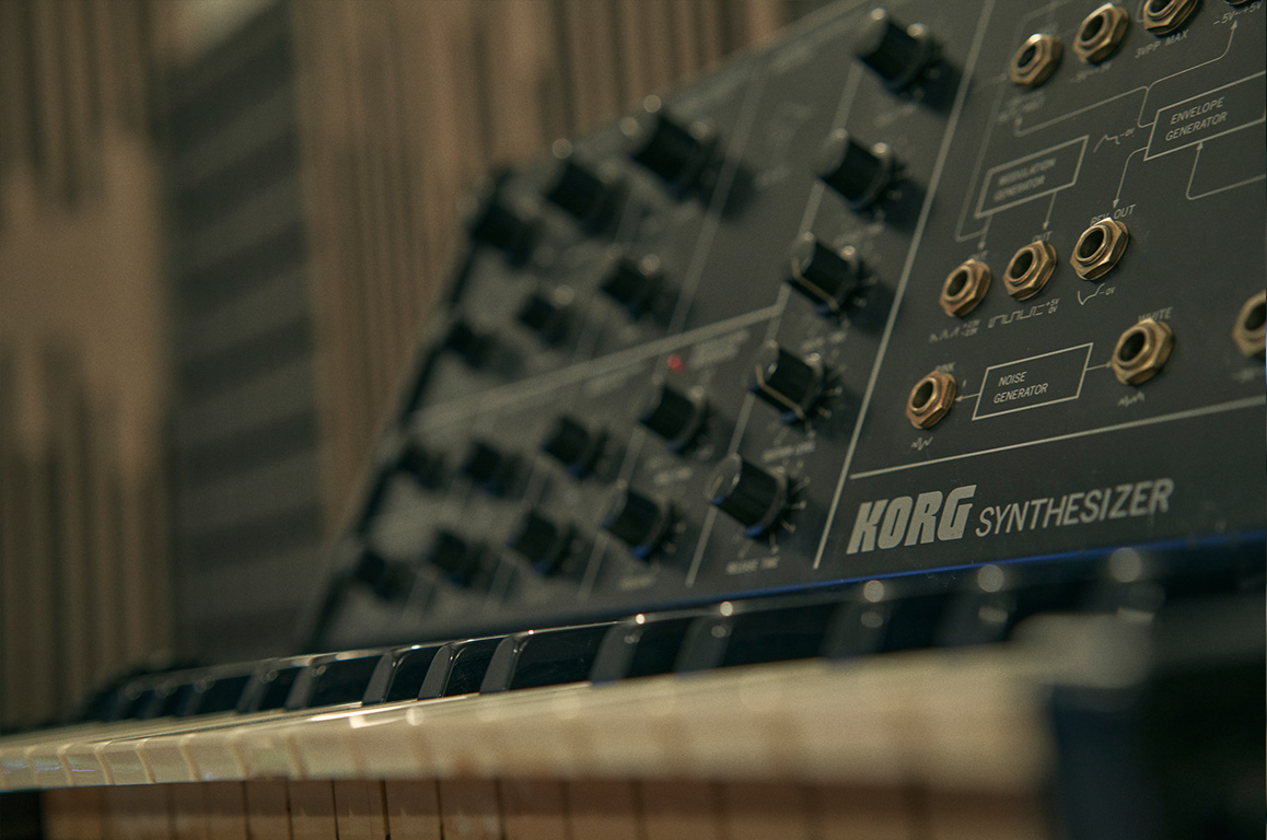 Wouter Hardy Music Producer Studio 09